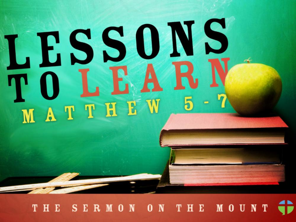 Matthew 5-7, The Sermon on the Mount